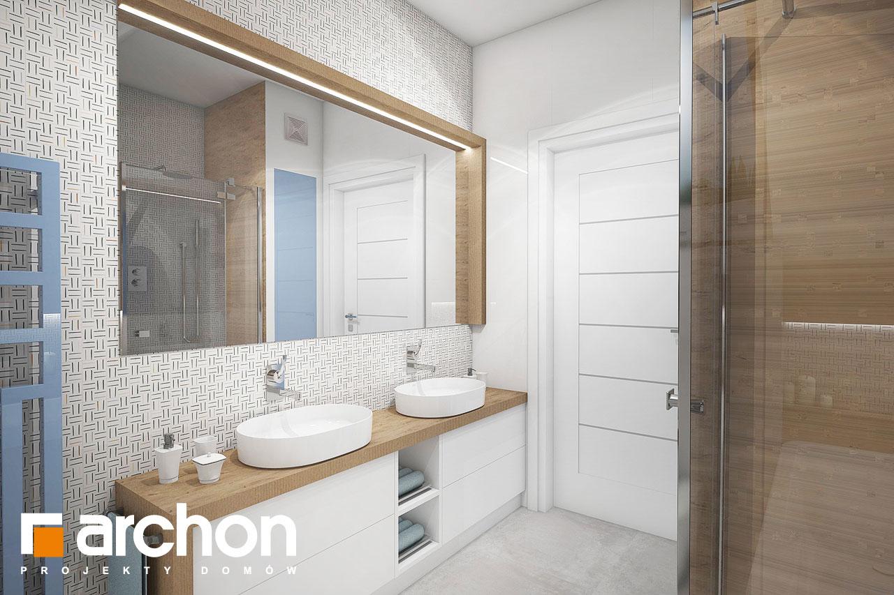 Проект будинку ARCHON+ Будинок в малинівці 3 візуалізація ванни (візуалізація 3 від 2)
