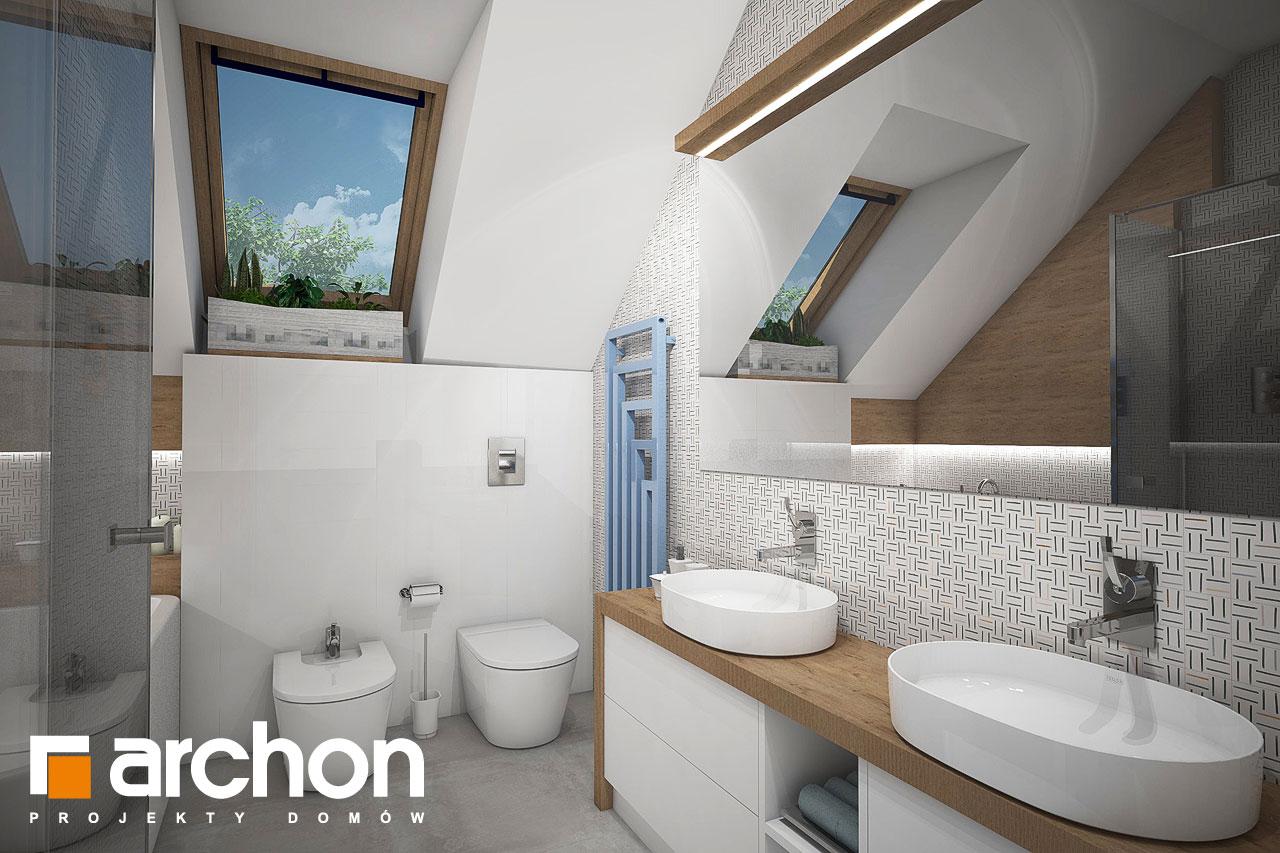 Проект будинку ARCHON+ Будинок в малинівці 3 візуалізація ванни (візуалізація 3 від 3)