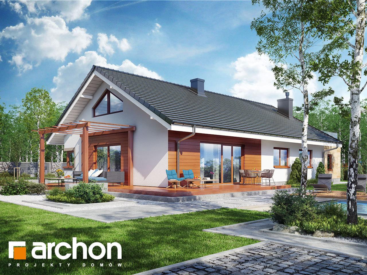 Проект дома ARCHON+ Дом под красной рябиной 17 (НТ)