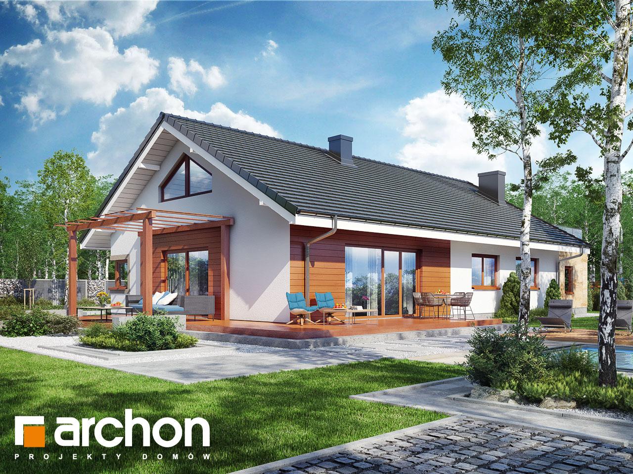 Проект дома ARCHON+ Дом под красной рябиной 17 (НТ) Вид 2