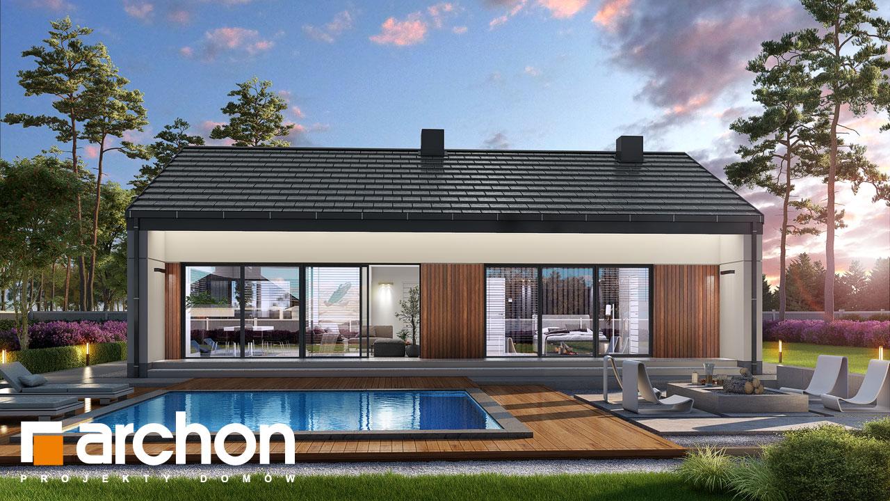 Проект будинку ARCHON+ Будинок в нарахнілах додаткова візуалізація