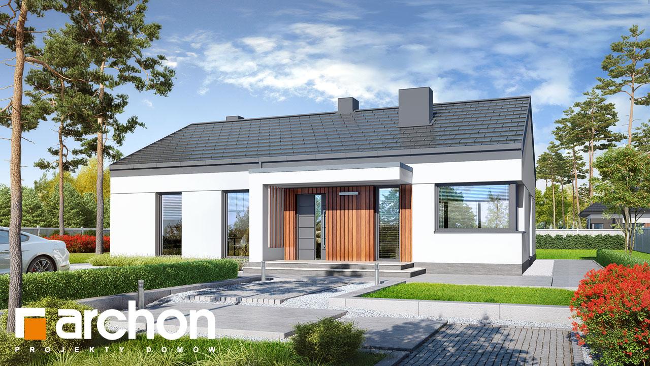 Проект будинку ARCHON+ Будинок в нарахнілах Вид 2
