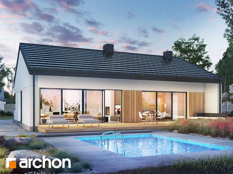 Проект будинку ARCHON+ Будинок в нарахнілах Вид 1