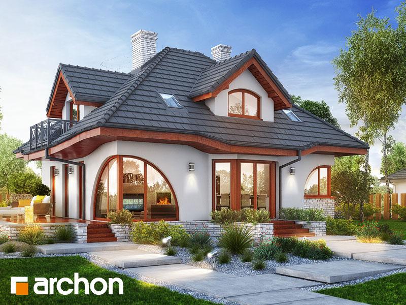 Проект будинку ARCHON+ Будинок в зефірантесі 5 (П) Вид 1