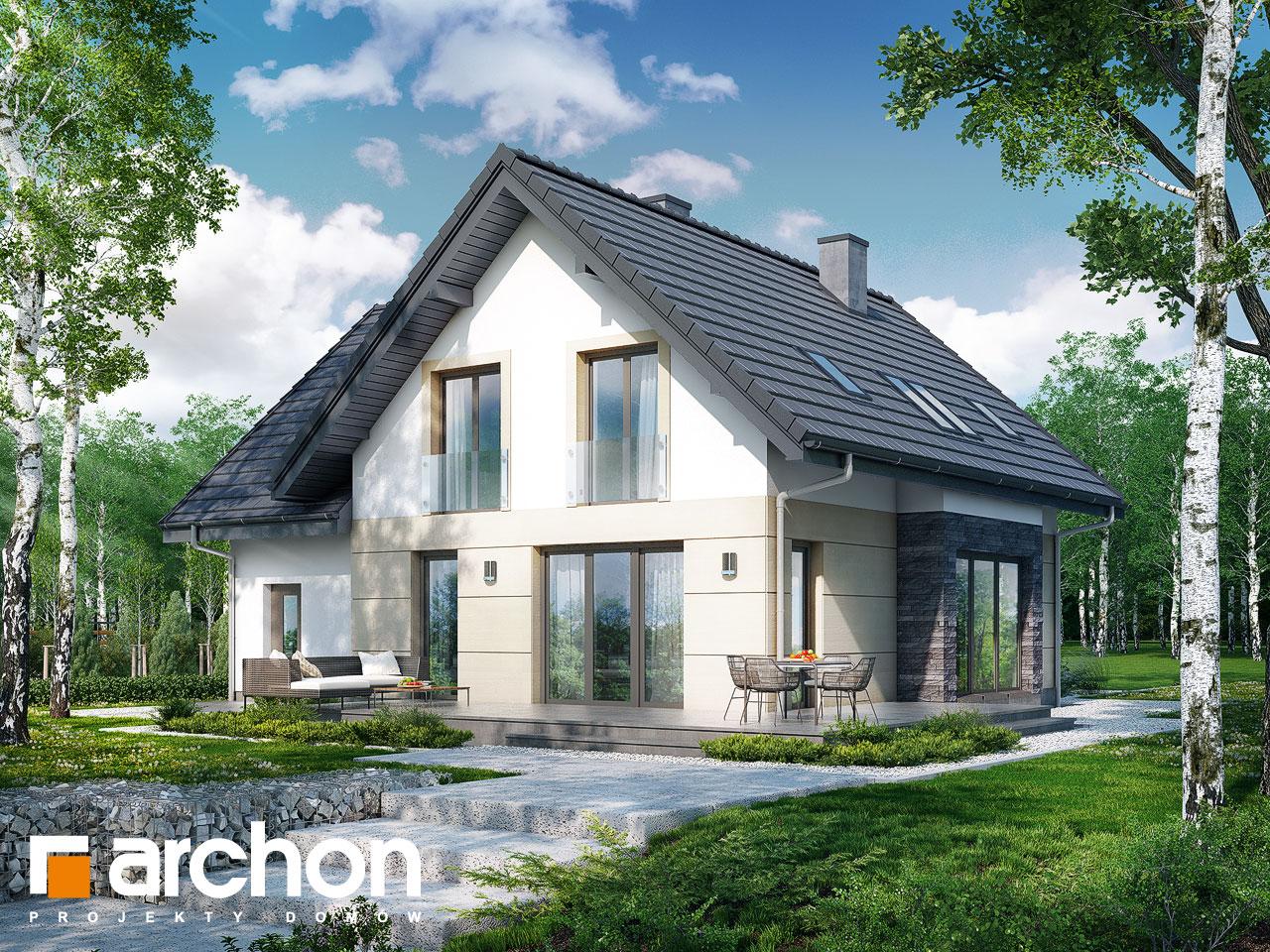 Проект будинку ARCHON+ Будинок в міловонках 2 Вид 2