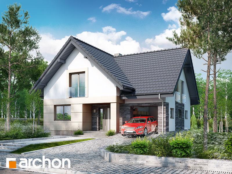 Проект будинку ARCHON+ Будинок в міловонках 2 Вид 1