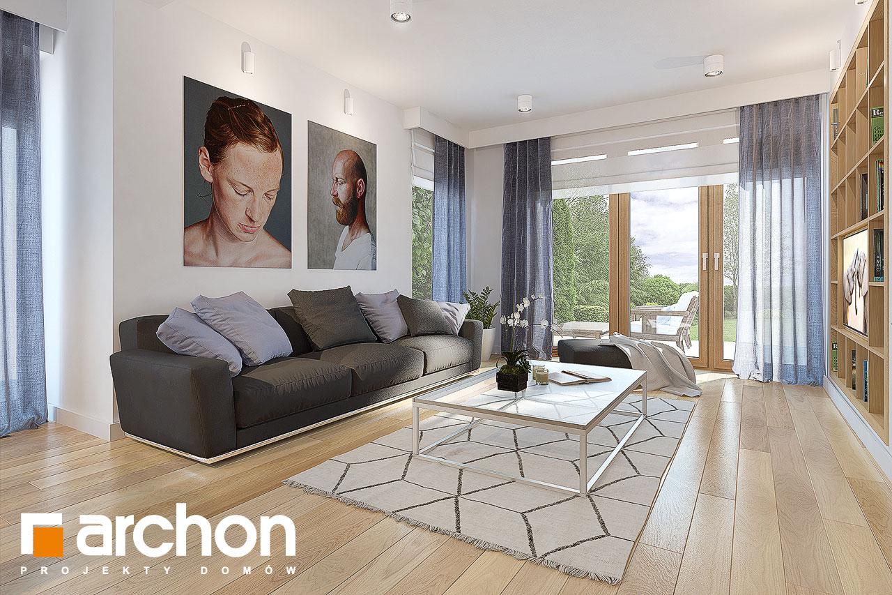 Проект будинку ARCHON+ Будинок в міловонках 2 денна зона (візуалізація 1 від 1)