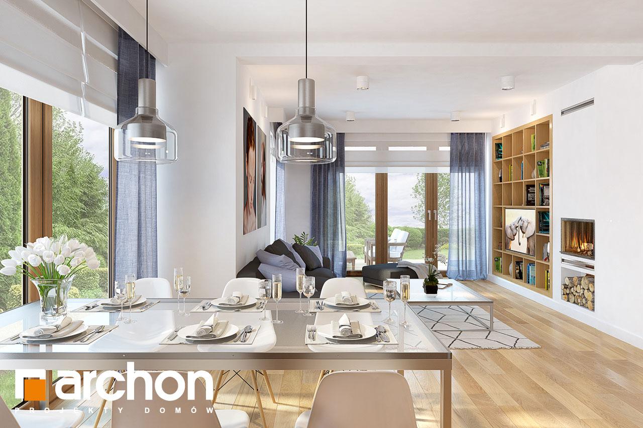 Проект будинку ARCHON+ Будинок в міловонках 2 денна зона (візуалізація 1 від 4)