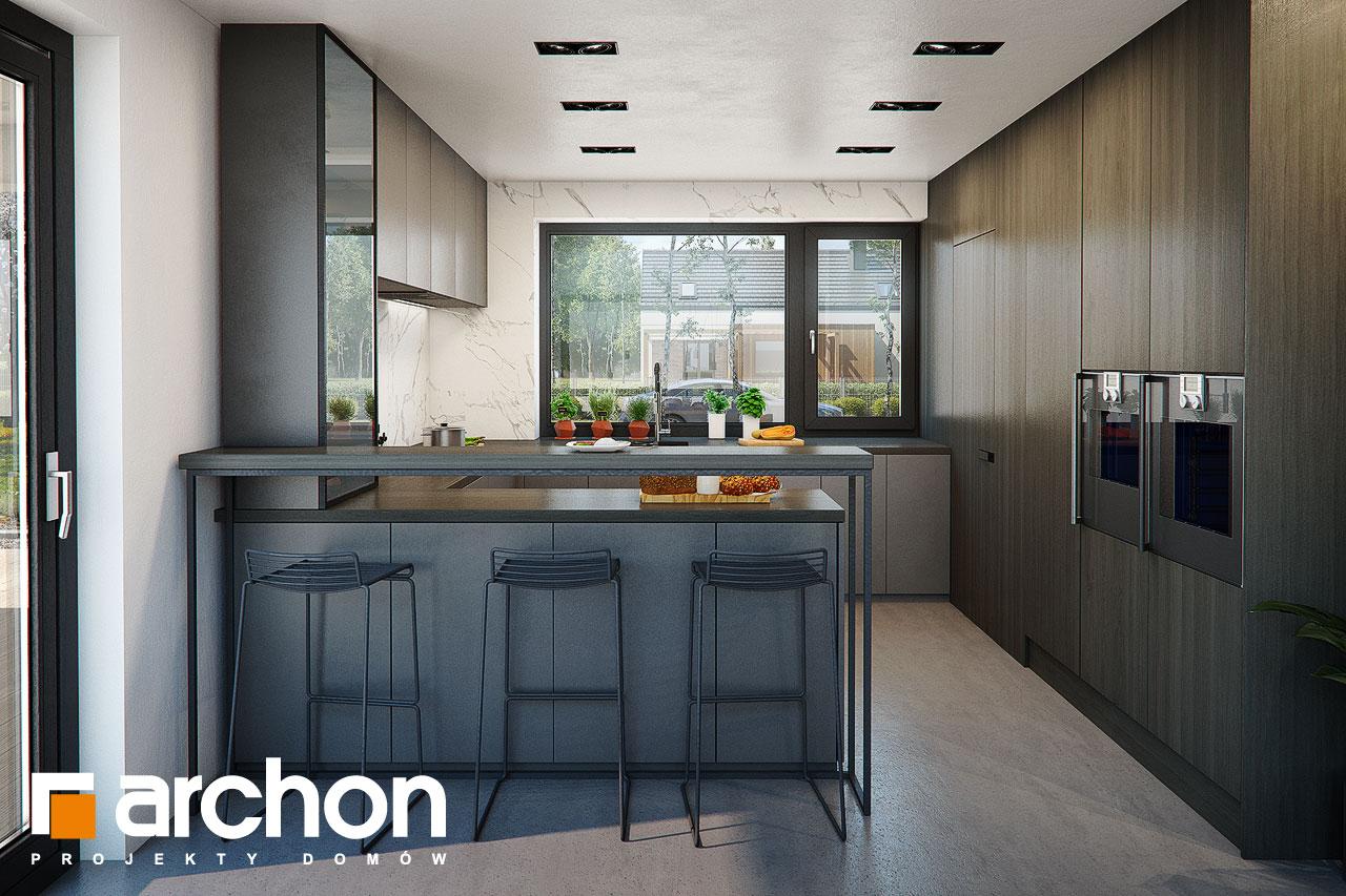 Проект будинку ARCHON+ Вілла Луна (Г2) візуалізація кухні 1 від 1