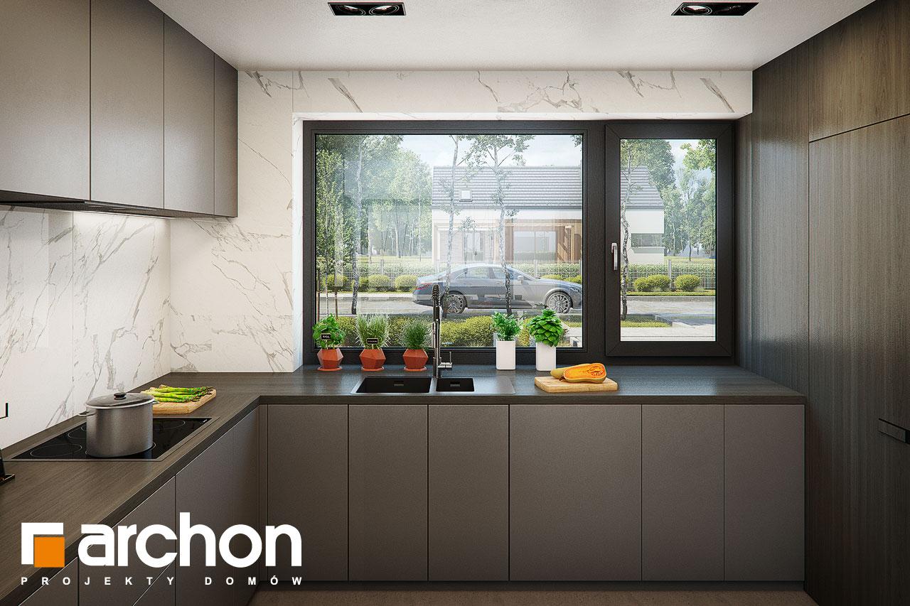 Проект будинку ARCHON+ Вілла Луна (Г2) візуалізація кухні 1 від 2