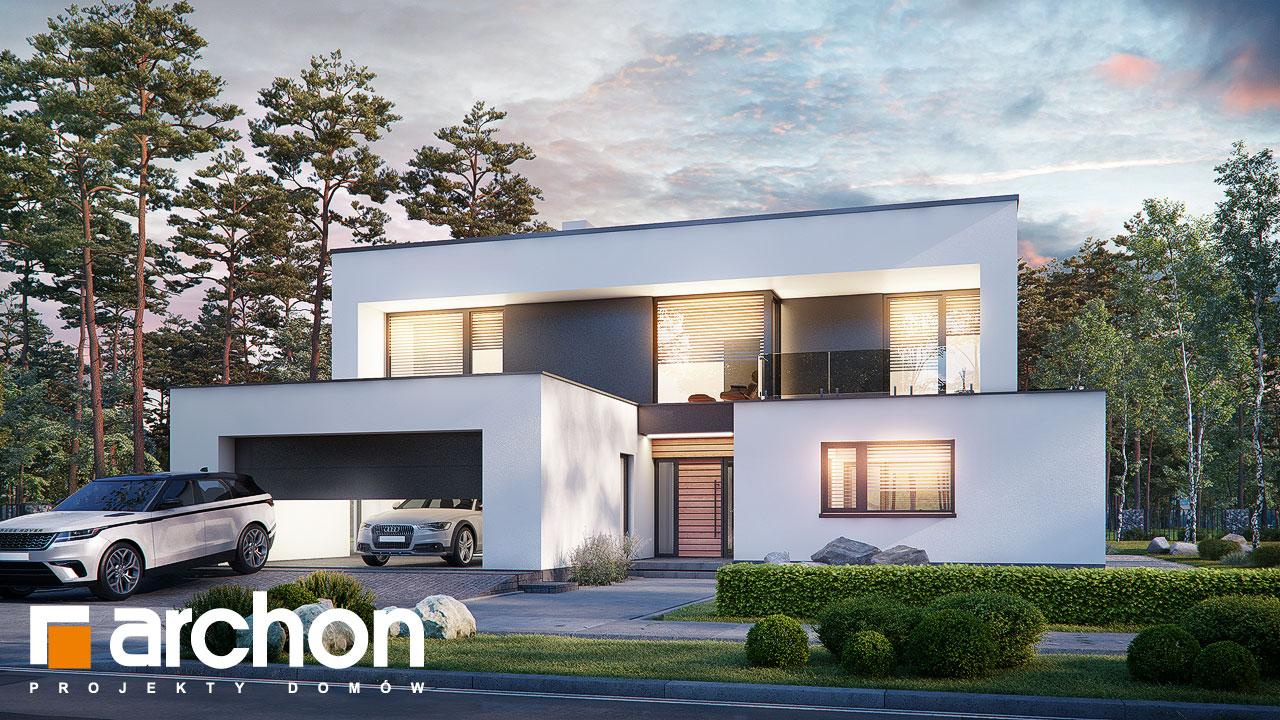 Проект будинку ARCHON+ Вілла Луна (Г2) Вид 2