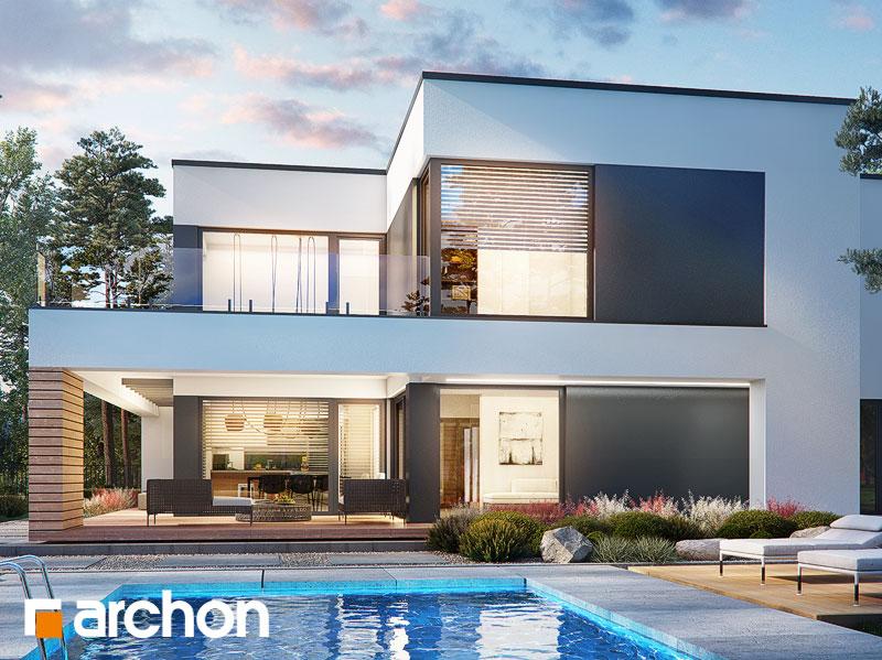 Проект будинку ARCHON+ Вілла Луна (Г2) Вид 1