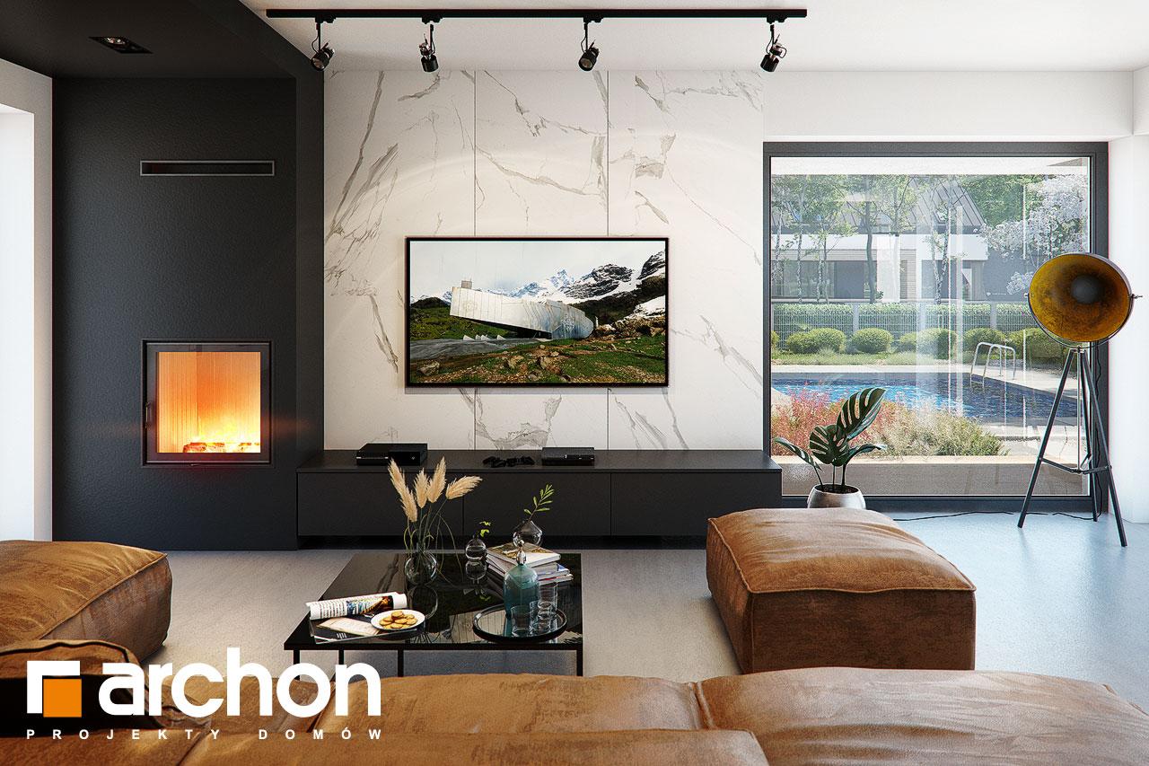 Проект будинку ARCHON+ Вілла Луна (Г2) денна зона (візуалізація 1 від 1)