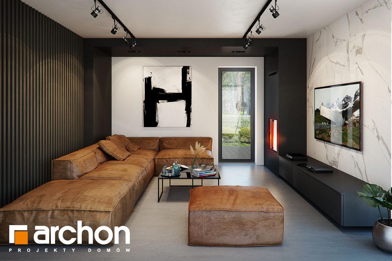 Проект будинку ARCHON+ Вілла Луна (Г2) денна зона (візуалізація 1 від 2)