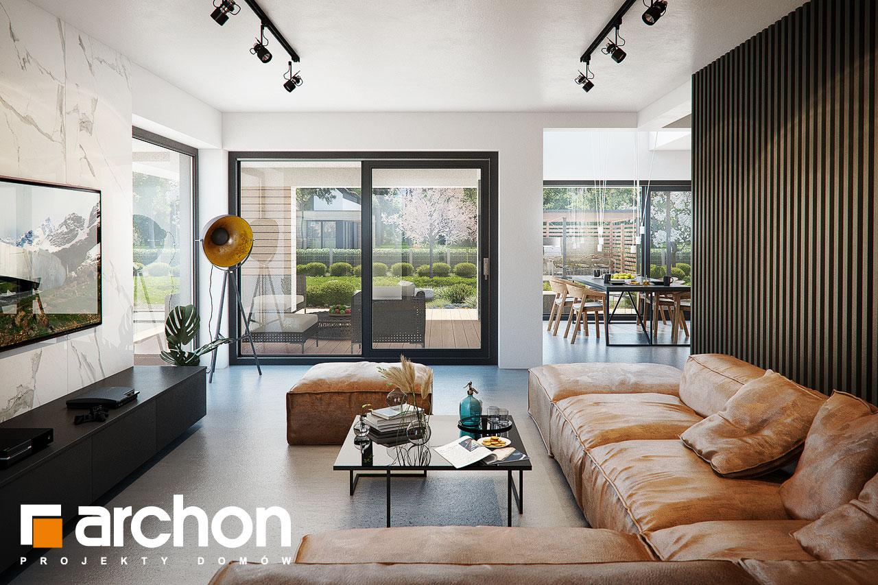 Проект будинку ARCHON+ Вілла Луна (Г2) денна зона (візуалізація 1 від 3)