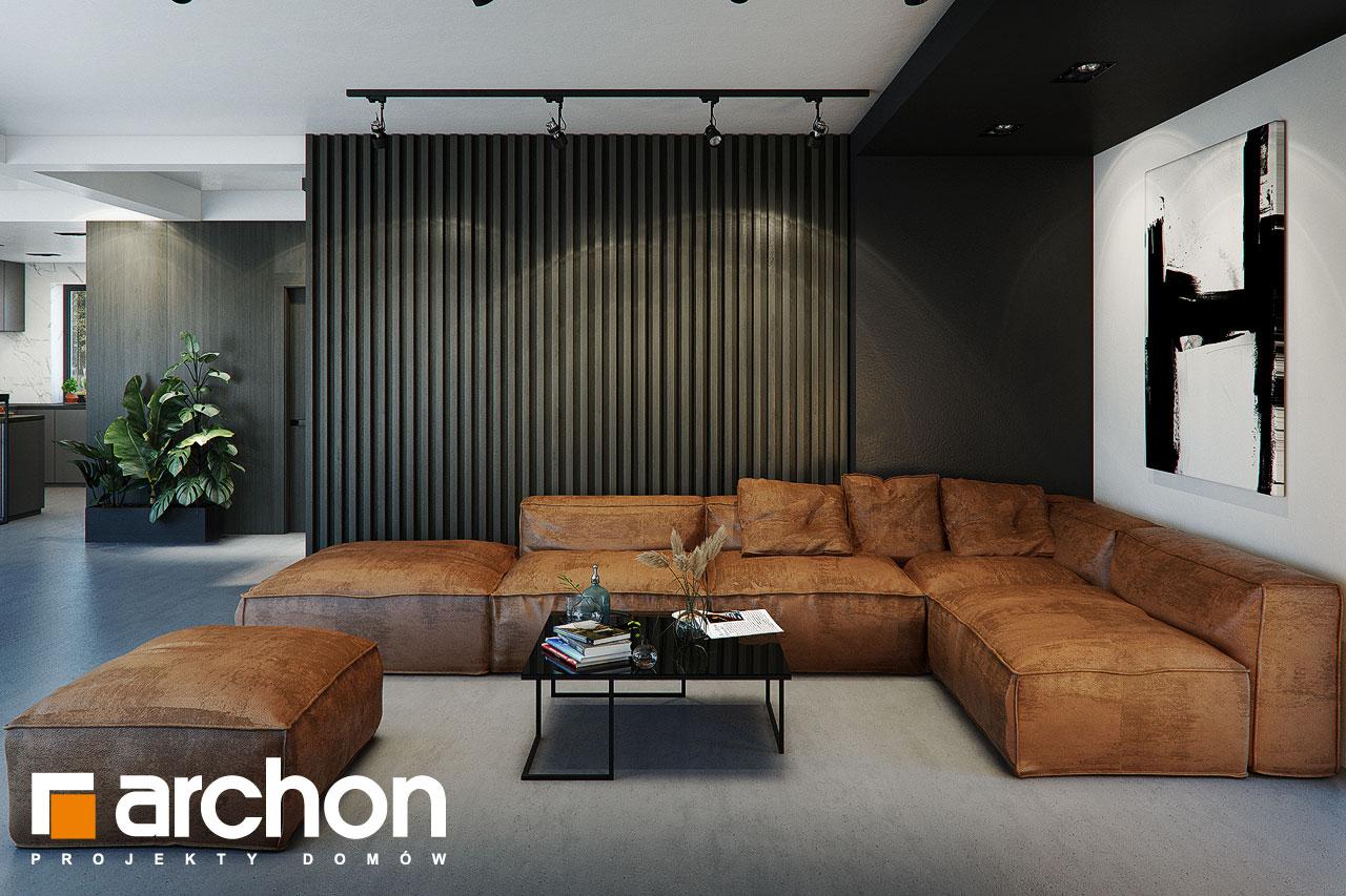Проект будинку ARCHON+ Вілла Луна (Г2) денна зона (візуалізація 1 від 4)