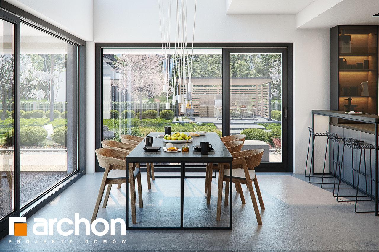 Проект будинку ARCHON+ Вілла Луна (Г2) денна зона (візуалізація 1 від 5)