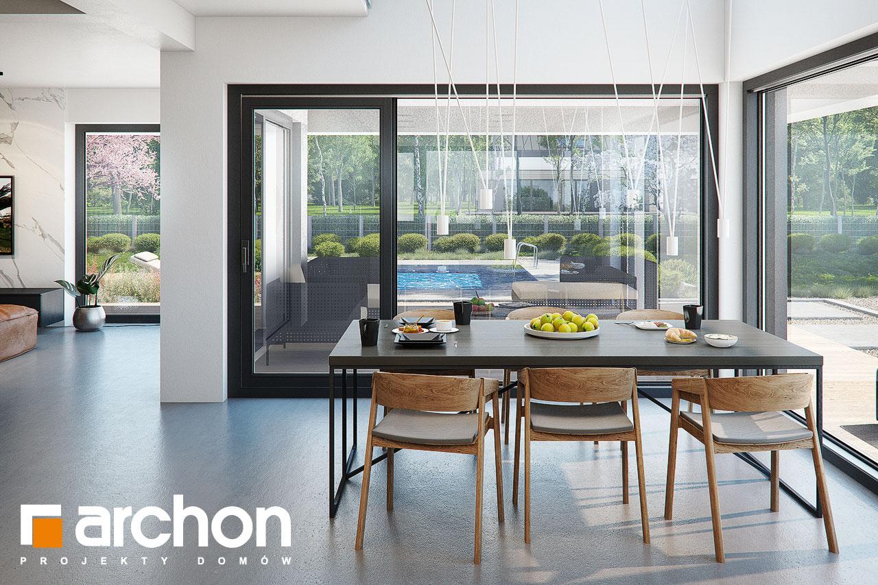 Проект будинку ARCHON+ Вілла Луна (Г2) денна зона (візуалізація 1 від 6)