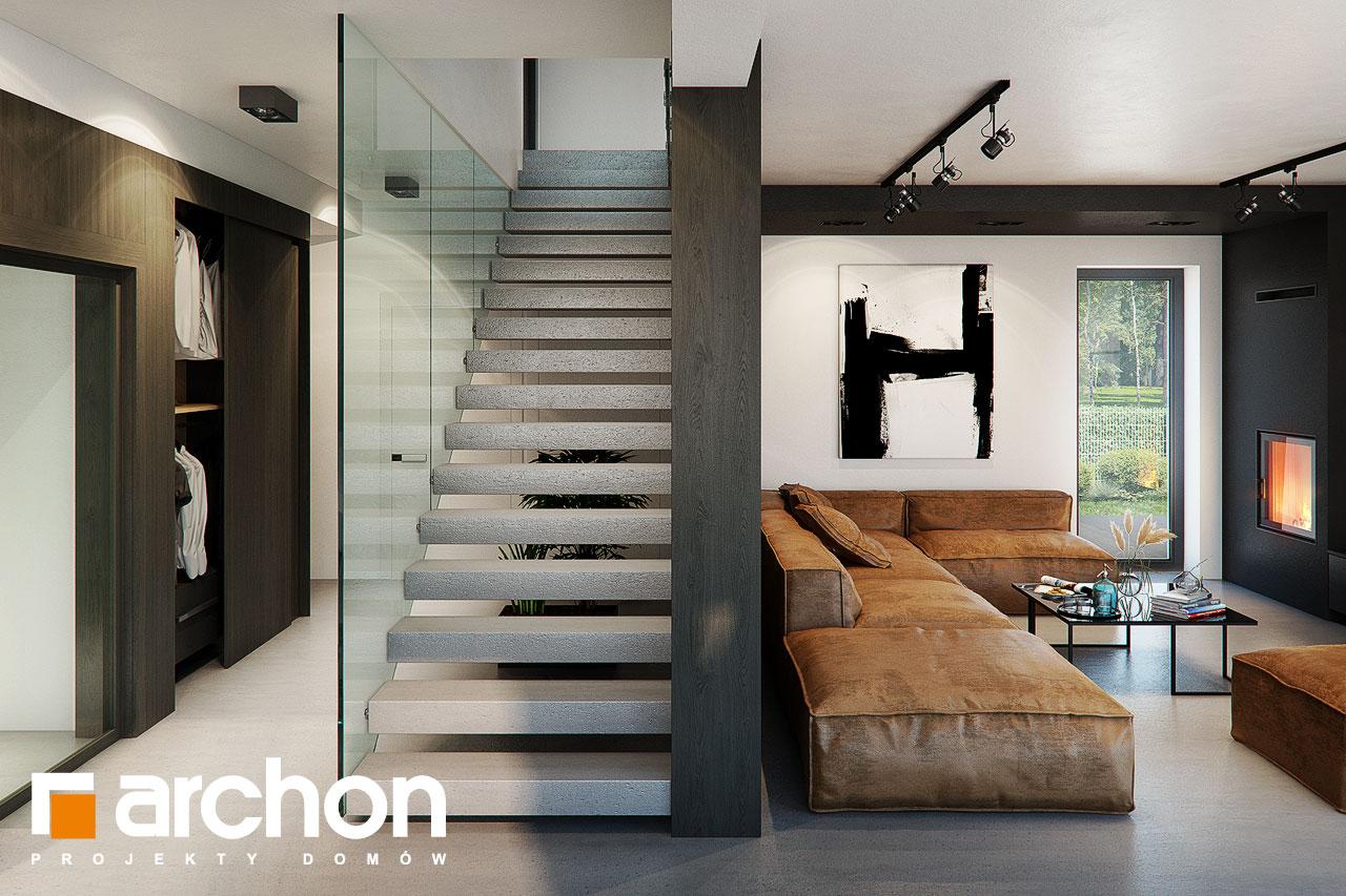 Проект будинку ARCHON+ Вілла Луна (Г2) денна зона (візуалізація 1 від 7)