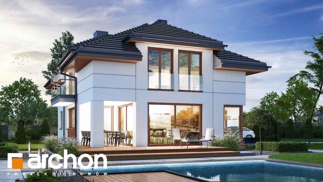 Проект дома ARCHON+ Дом в сандавиллах Вид 2