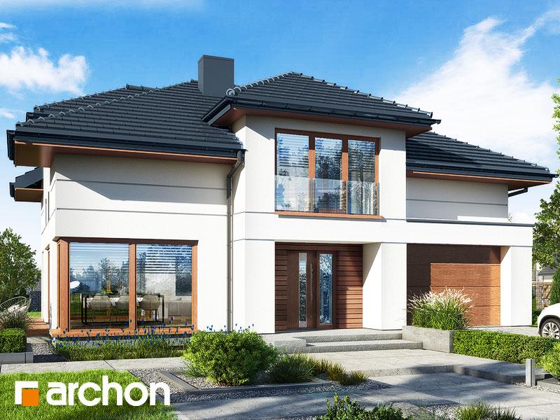 Проект дома ARCHON+ Дом в сандавиллах Вид 1