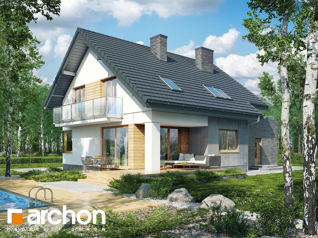 Проект будинку ARCHON+ Будинок в глостерах  Вид 2