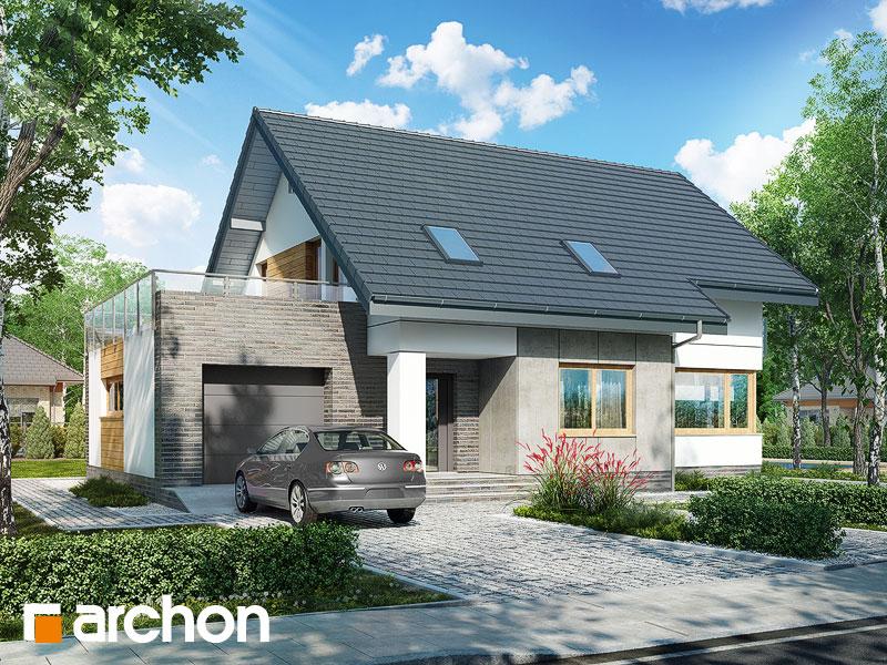 Проект будинку ARCHON+ Будинок в глостерах  Вид 1