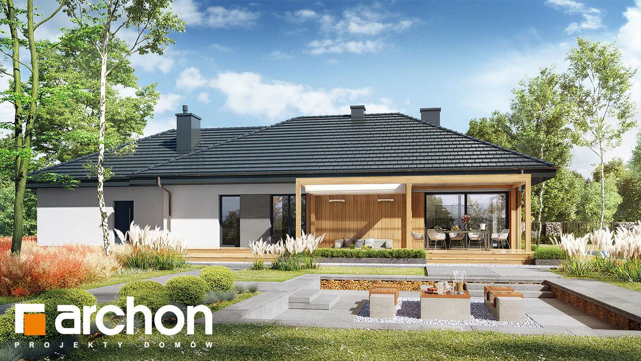 Проект будинку ARCHON+ Будинок в сантолінах 4 (Г2)