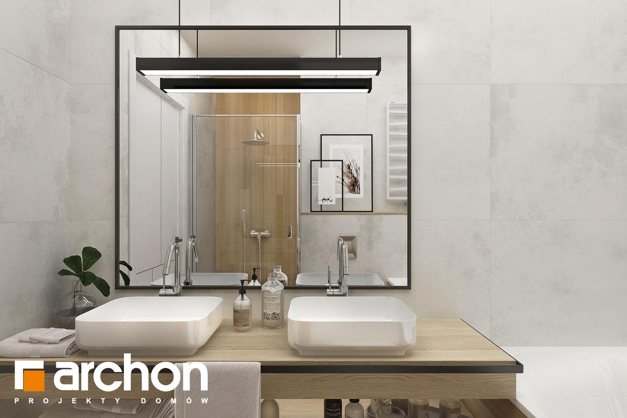Проект будинку ARCHON+ Будинок в сантолінах 4 (Г2) візуалізація ванни (візуалізація 3 від 1)