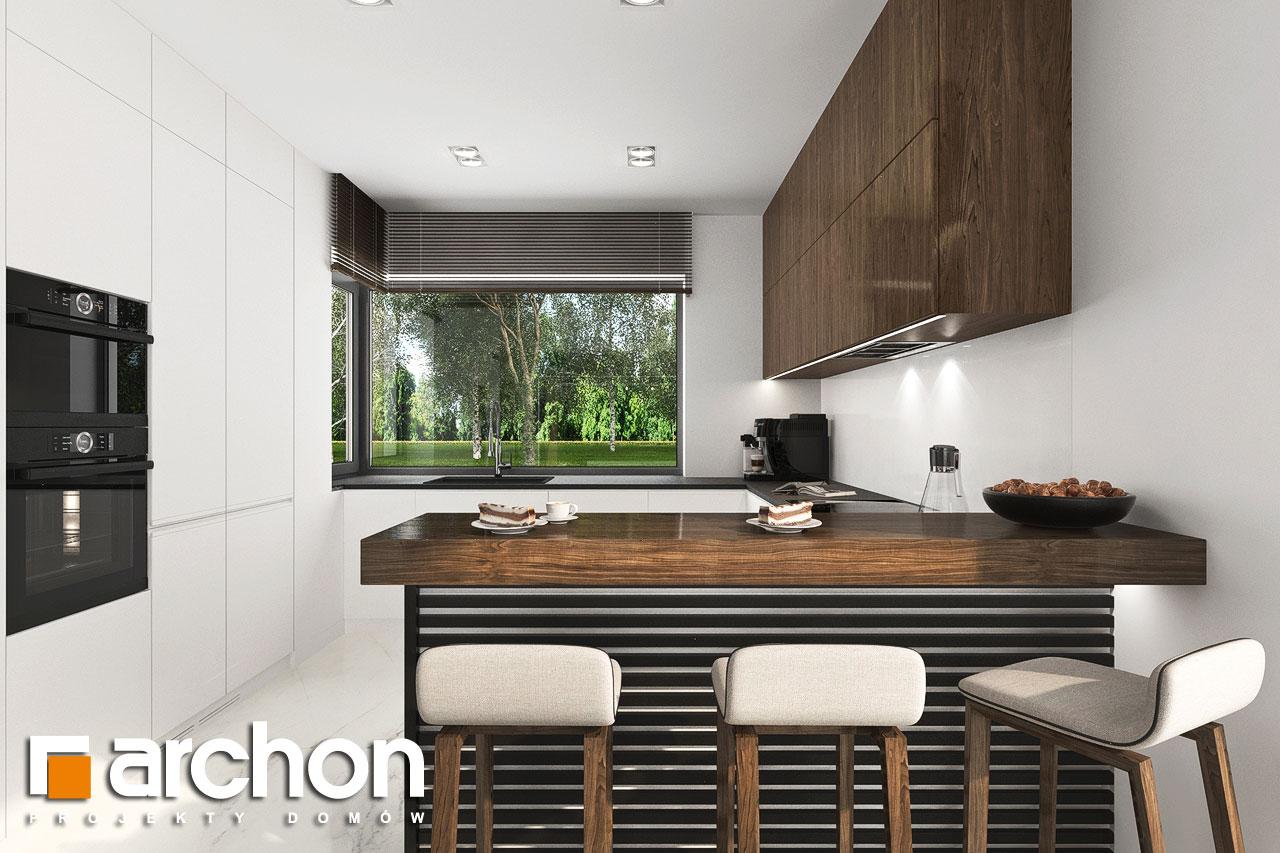 Проект будинку ARCHON+ Будинок в хакетіях 6 візуалізація кухні 1 від 1