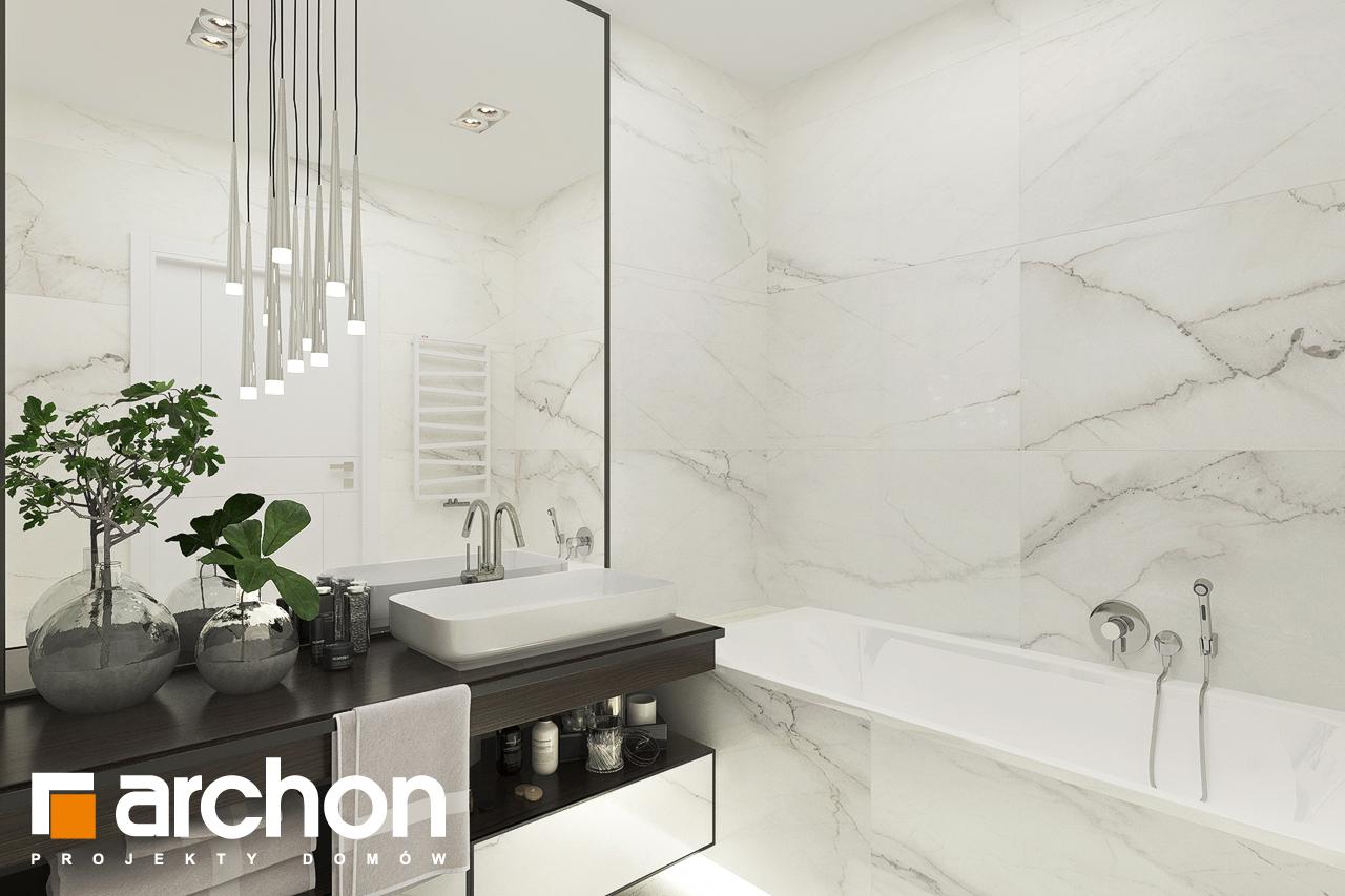 Проект будинку ARCHON+ Будинок в хакетіях 6 візуалізація ванни (візуалізація 3 від 1)