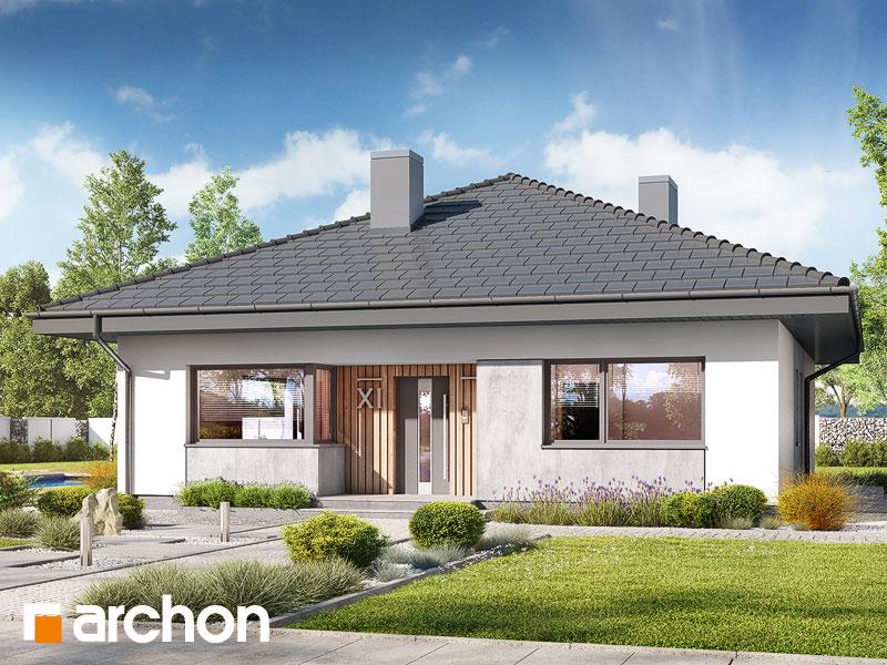 Проект будинку ARCHON+ Будинок в хакетіях 6 Вид 1