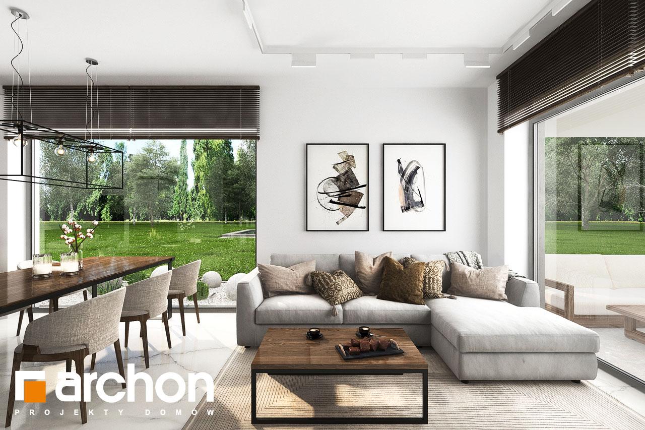 Проект будинку ARCHON+ Будинок в хакетіях 6 денна зона (візуалізація 1 від 2)