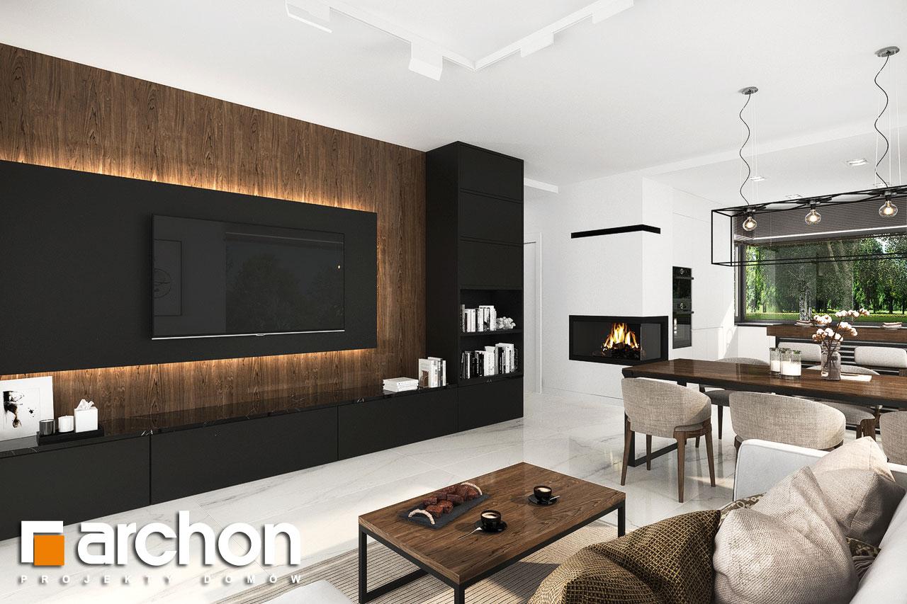 Проект будинку ARCHON+ Будинок в хакетіях 6 денна зона (візуалізація 1 від 3)