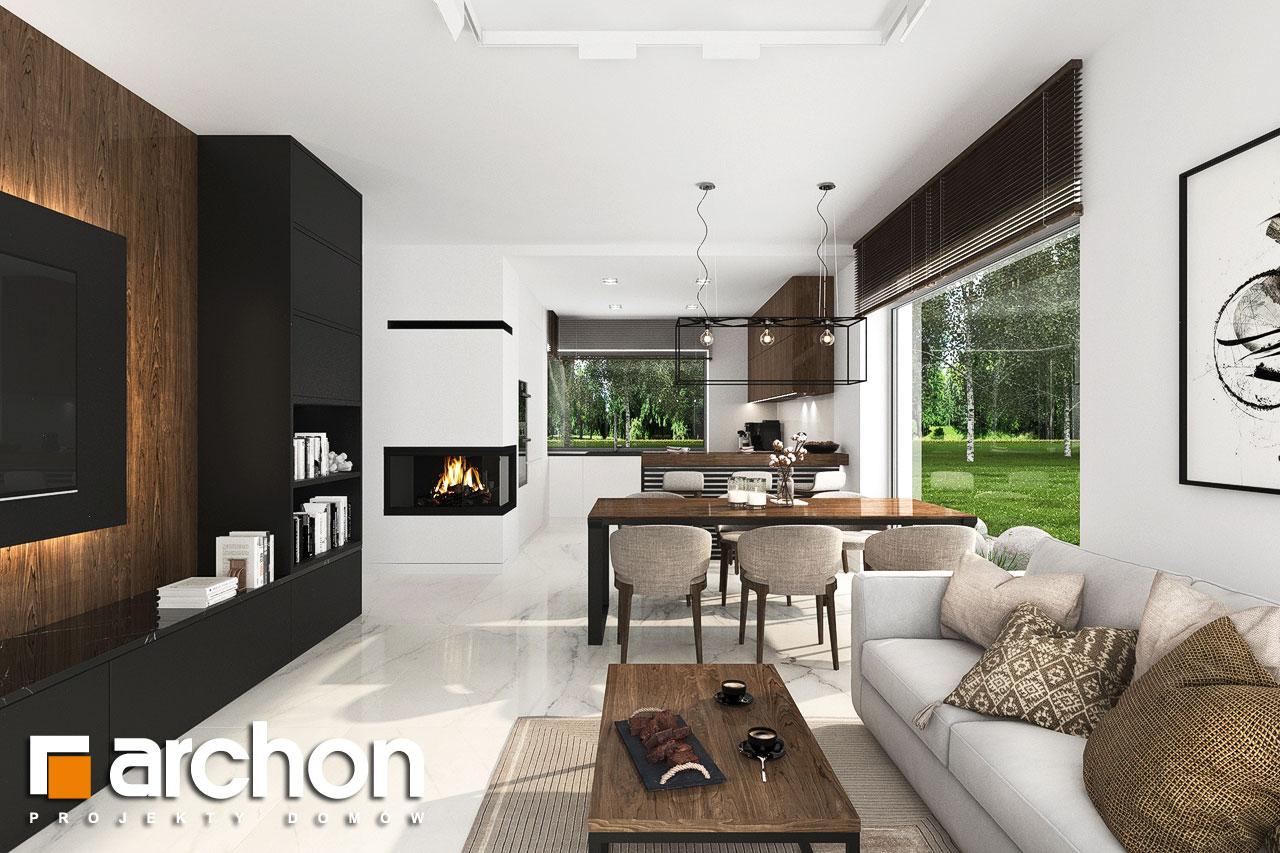 Проект будинку ARCHON+ Будинок в хакетіях 6 денна зона (візуалізація 1 від 4)