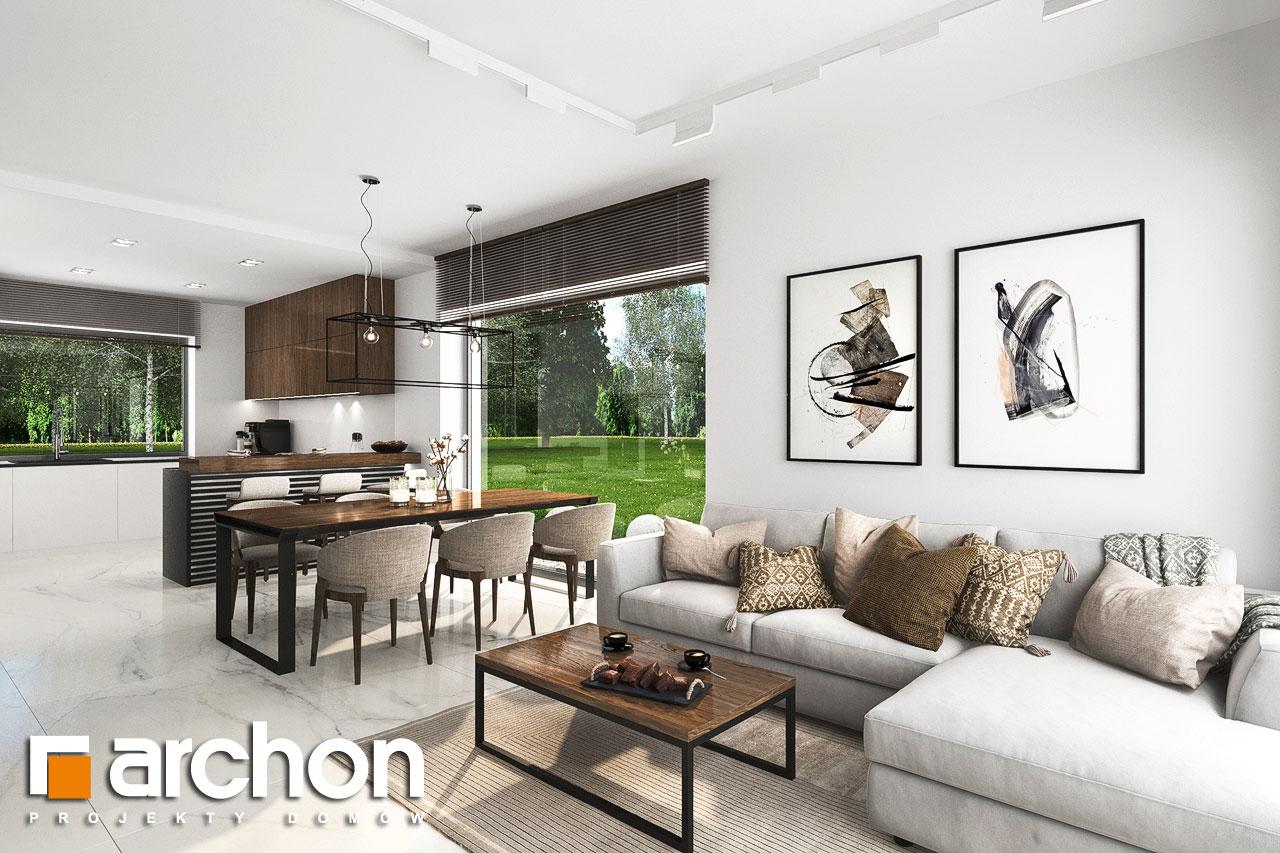 Проект будинку ARCHON+ Будинок в хакетіях 6 денна зона (візуалізація 1 від 5)