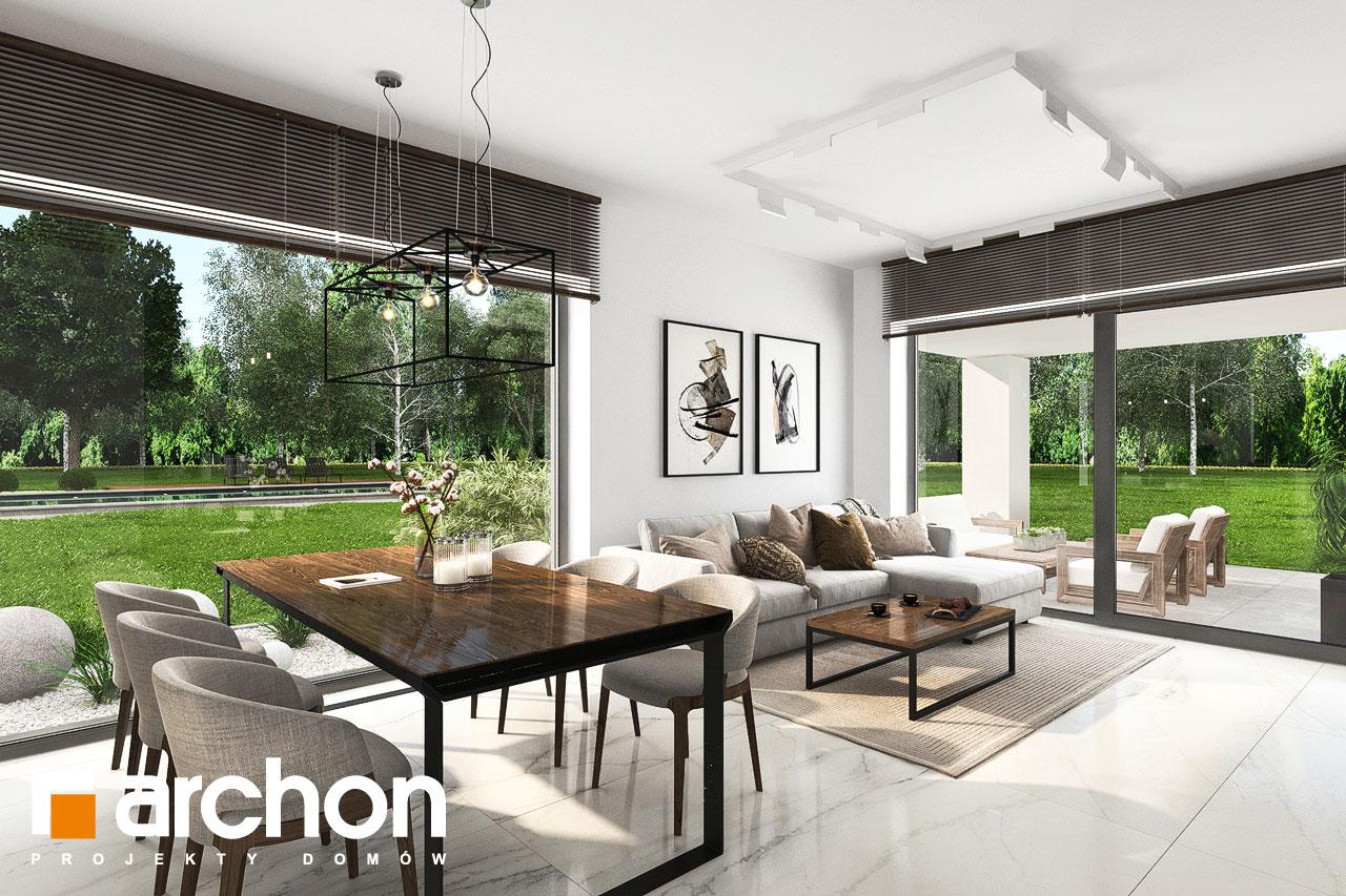 Проект будинку ARCHON+ Будинок в хакетіях 6 денна зона (візуалізація 1 від 6)