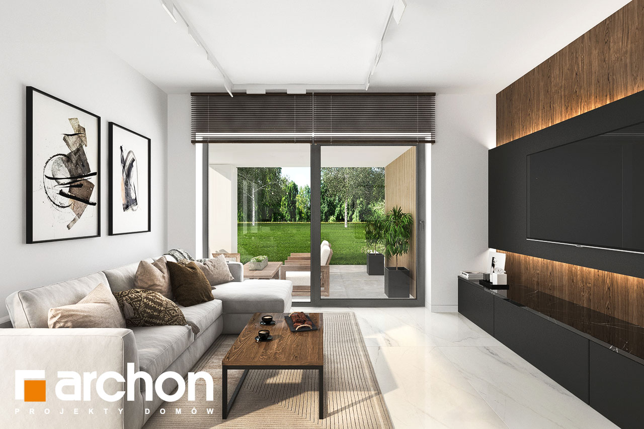 Проект будинку ARCHON+ Будинок в хакетіях 6 денна зона (візуалізація 1 від 7)