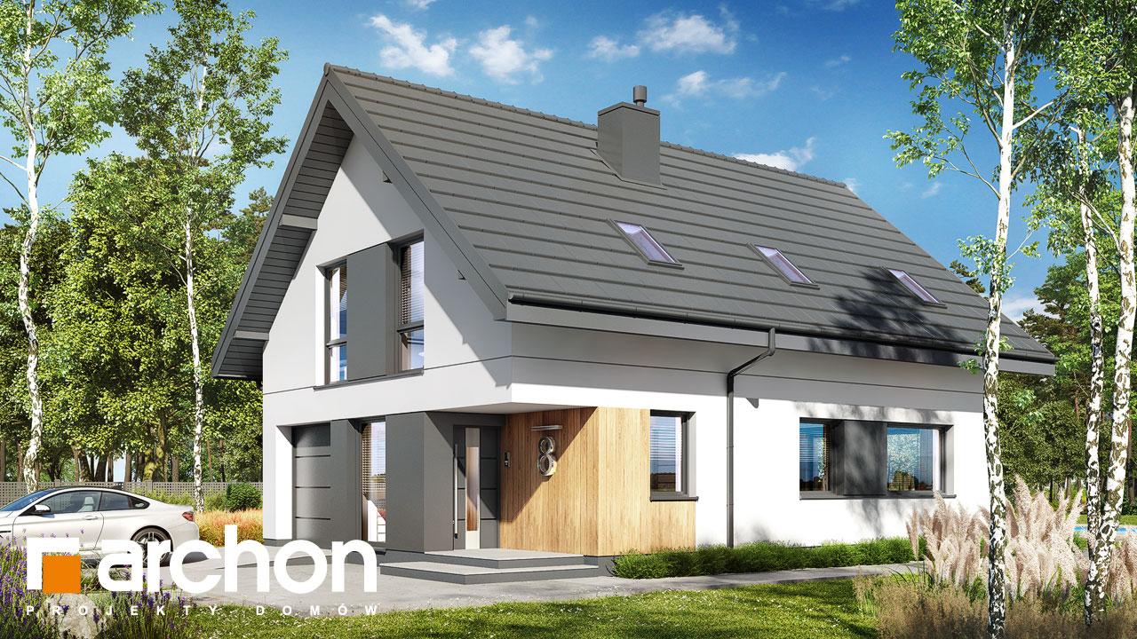 Проект будинку ARCHON+ Будинок в арлетах додаткова візуалізація