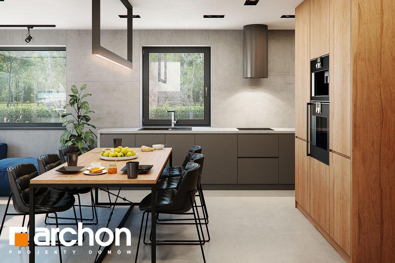 Проект будинку ARCHON+ Будинок в арлетах візуалізація кухні 1 від 1