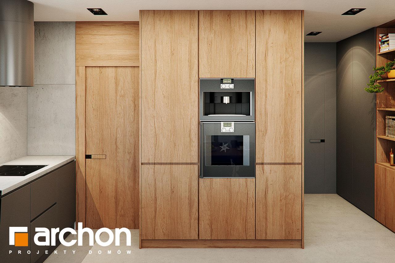 Проект будинку ARCHON+ Будинок в арлетах візуалізація кухні 1 від 2