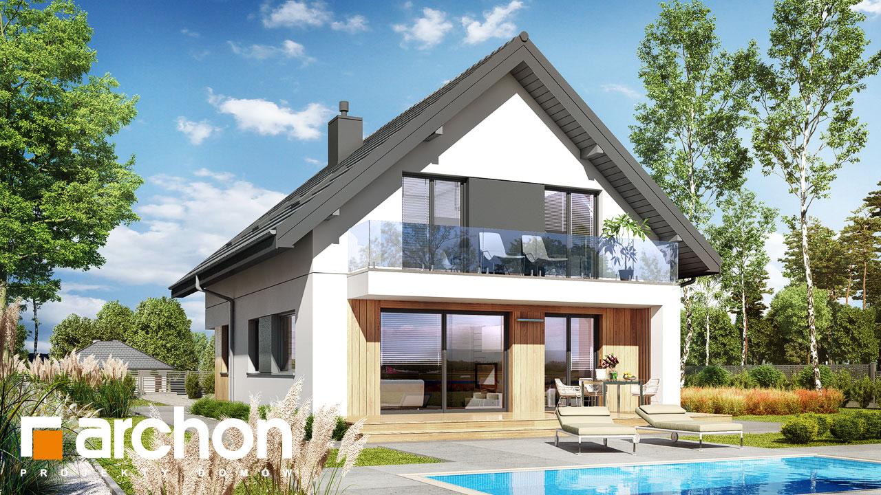 Проект будинку ARCHON+ Будинок в арлетах Вид 2
