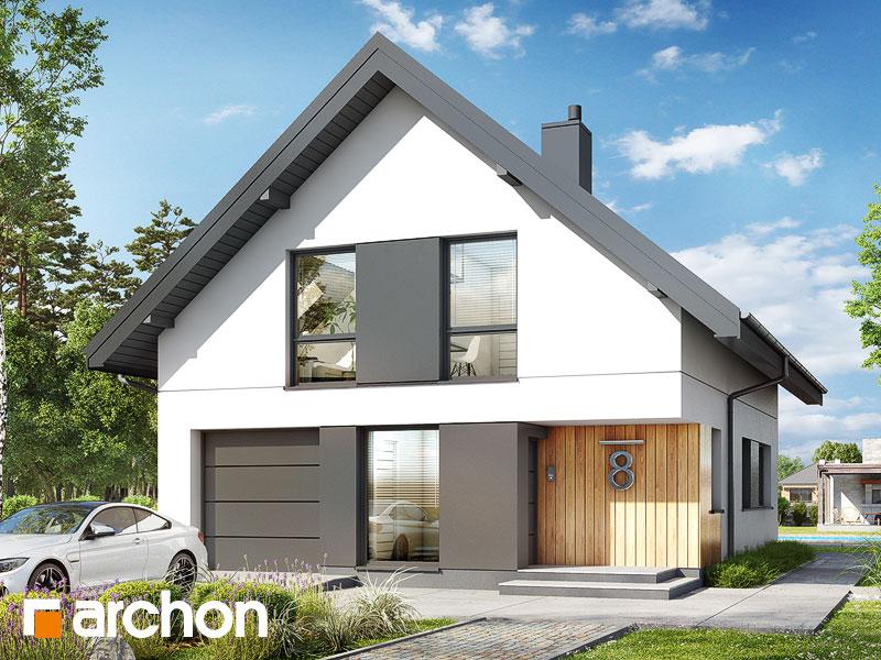 Проект будинку ARCHON+ Будинок в арлетах Вид 1