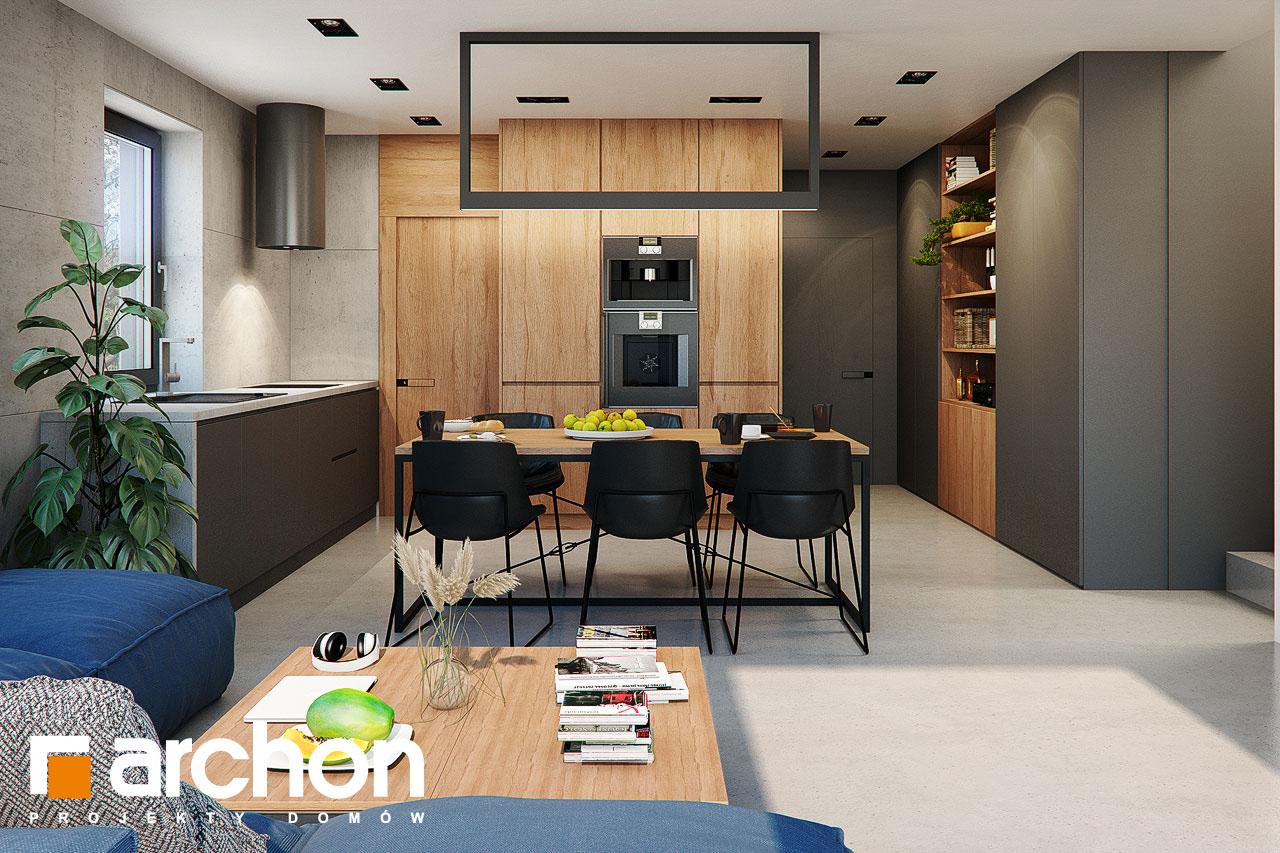 Проект будинку ARCHON+ Будинок в арлетах денна зона (візуалізація 1 від 1)