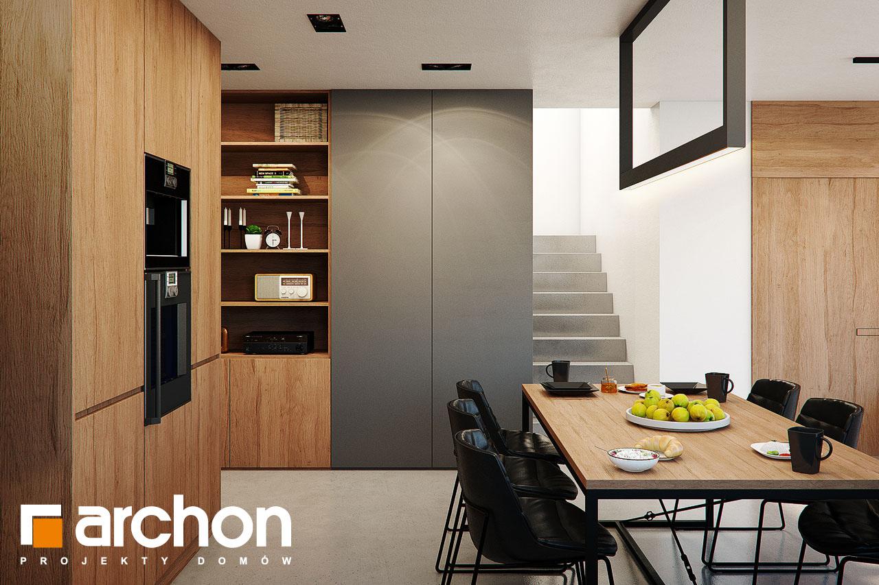 Проект будинку ARCHON+ Будинок в арлетах денна зона (візуалізація 1 від 4)