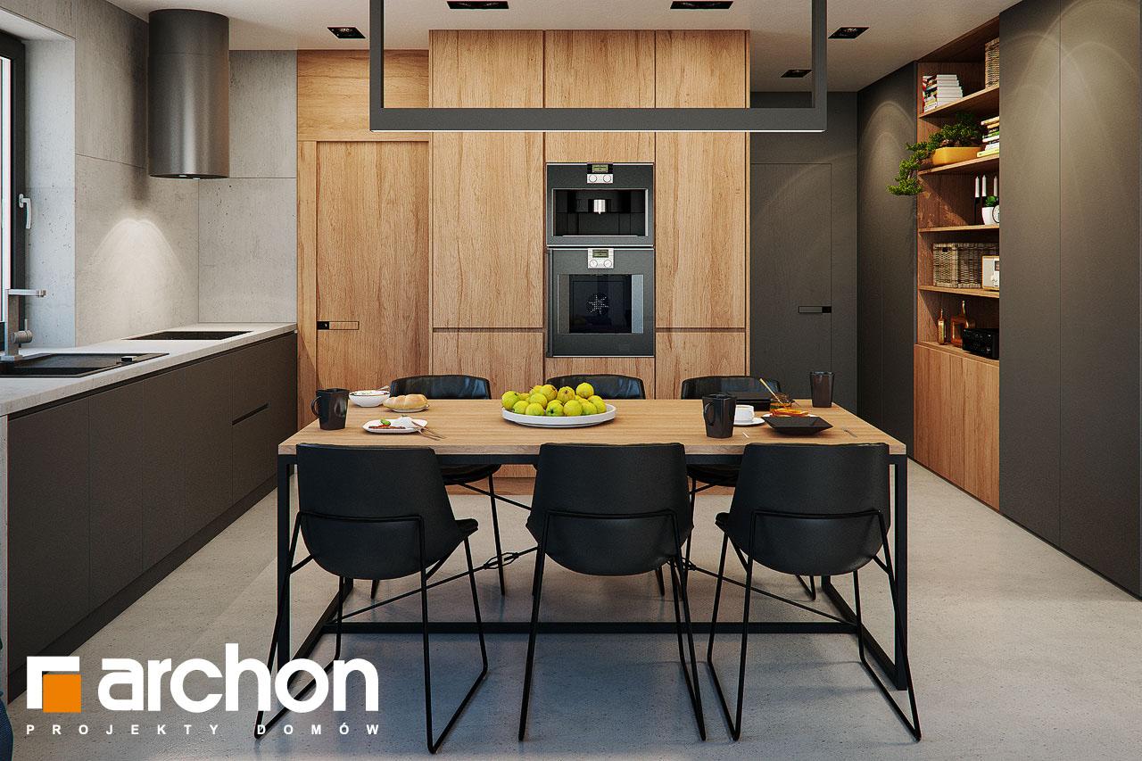 Проект будинку ARCHON+ Будинок в арлетах денна зона (візуалізація 1 від 6)
