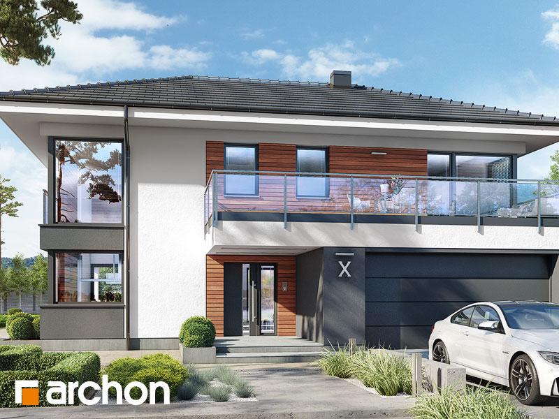 Проект будинку ARCHON+ Вілла Міранда 4 (Г2) Вид 1