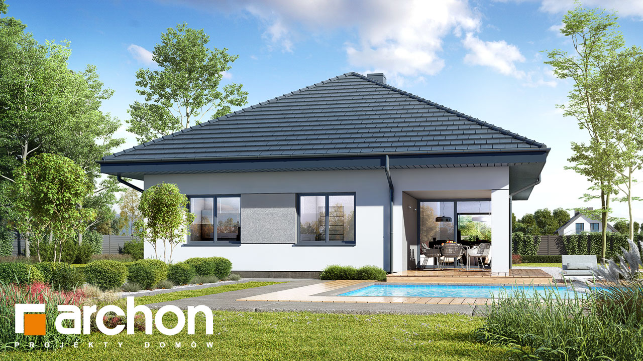 Проект будинку ARCHON+ Будинок в ренклодах 12 додаткова візуалізація