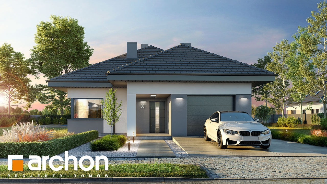 Проект будинку ARCHON+ Будинок в ренклодах 12