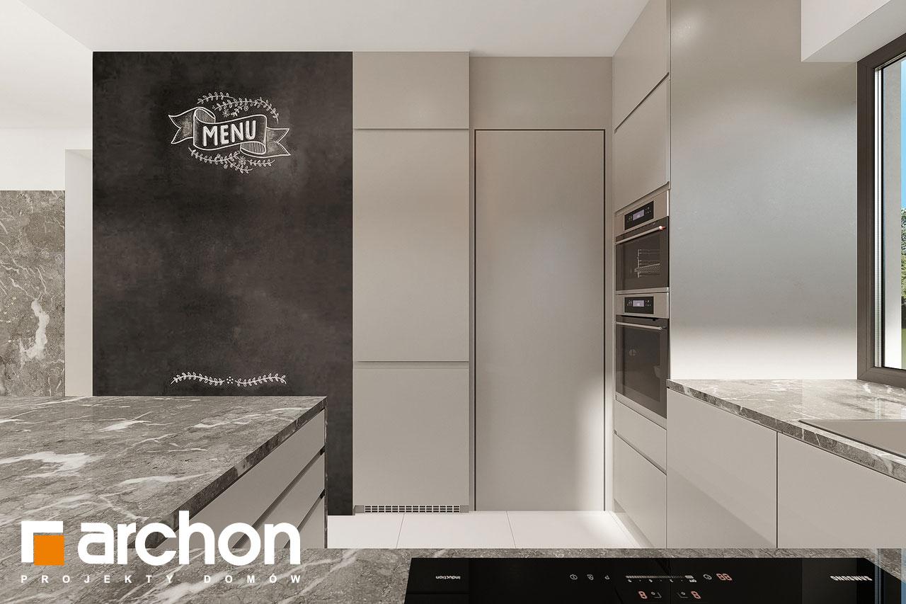 Проект будинку ARCHON+ Будинок в ренклодах 12 візуалізація кухні 1 від 1